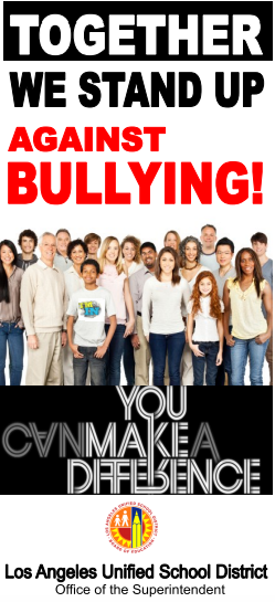 Together we stand up against bullying!